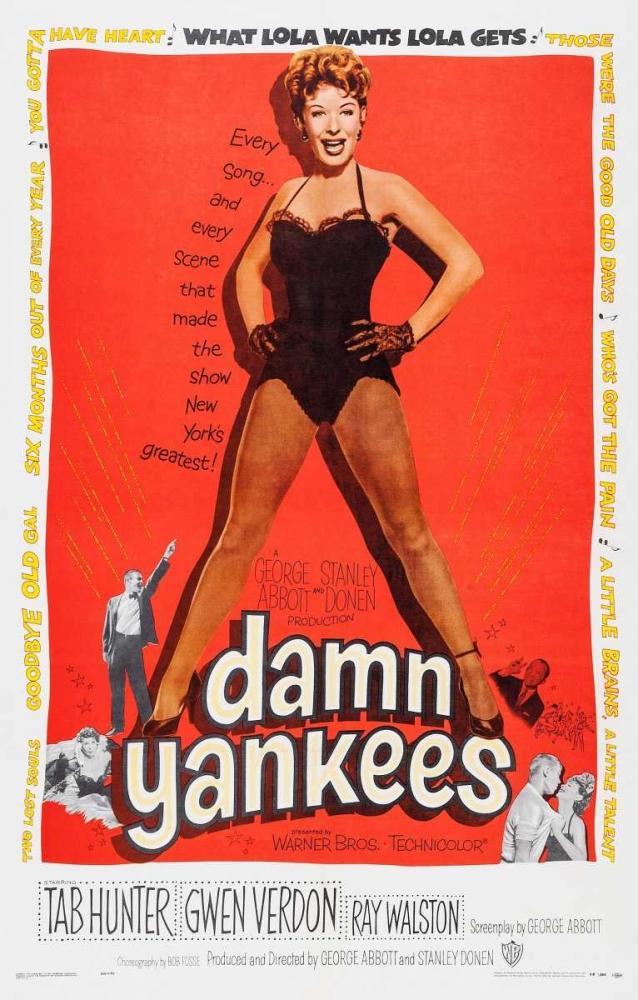 DAMN YANKEES Everett Collection 114129