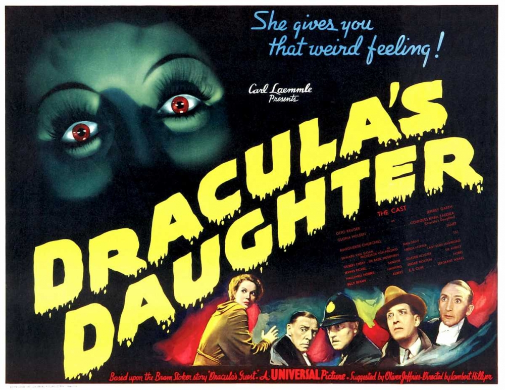DRACULAS DAUGHTER Everett Collection 110438