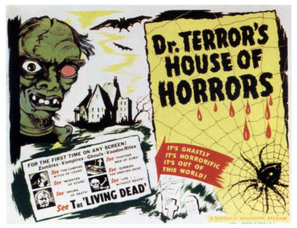 DR. TERRORS HOUSE OF HORRORS Everett Collection 112077