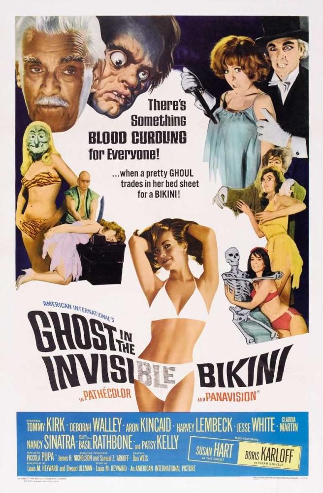 GHOST IN THE INVISIBLE BIKINI Everett Collection 114721