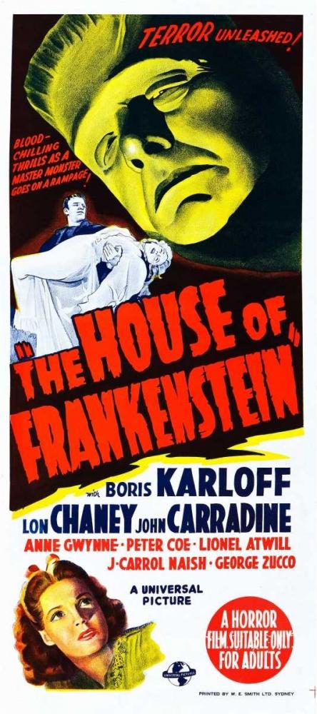 HOUSE OF FRANKENSTEIN Everett Collection 112771