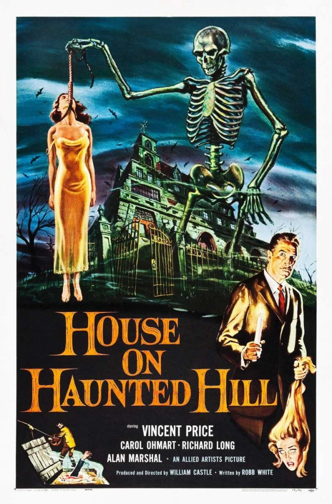 HOUSE ON HAUNTED HILL Everett Collection 113893