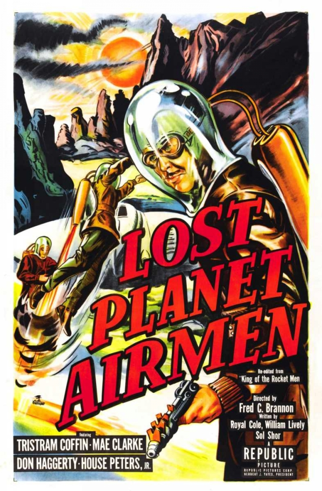LOST PLANET AIRMEN Everett Collection 113446