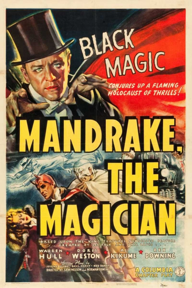 MANDRAKE THE MAGICIAN Everett Collection 111155