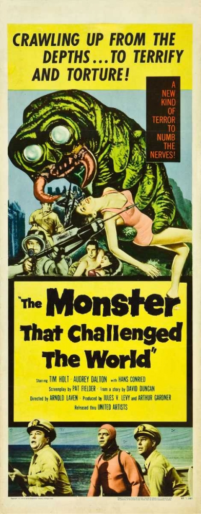 THE MONSTER THAT CHALLENGED THE WORLD Everett Collection 114059