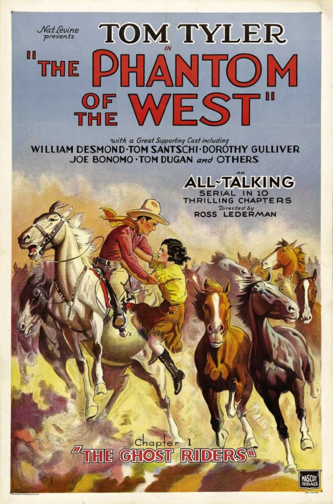 THE PHANTOM OF THE WEST Everett Collection 109324