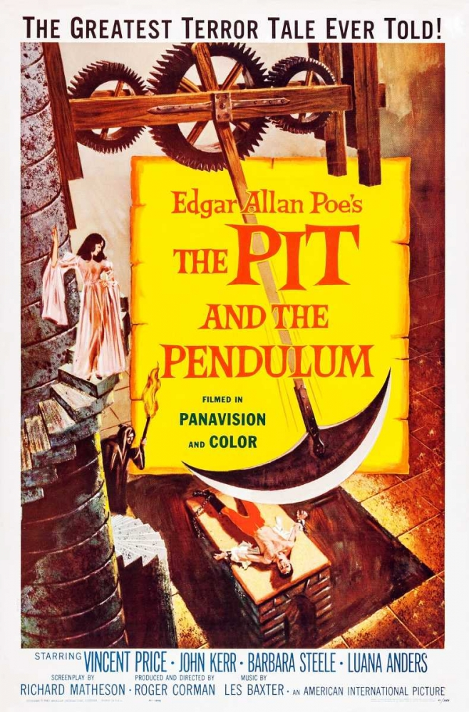 THE PIT AND THE PENDULUM Everett Collection 114434