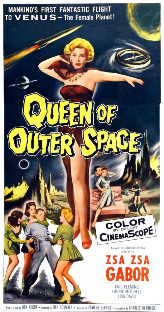QUEEN OF OUTER SPACE Everett Collection 114180