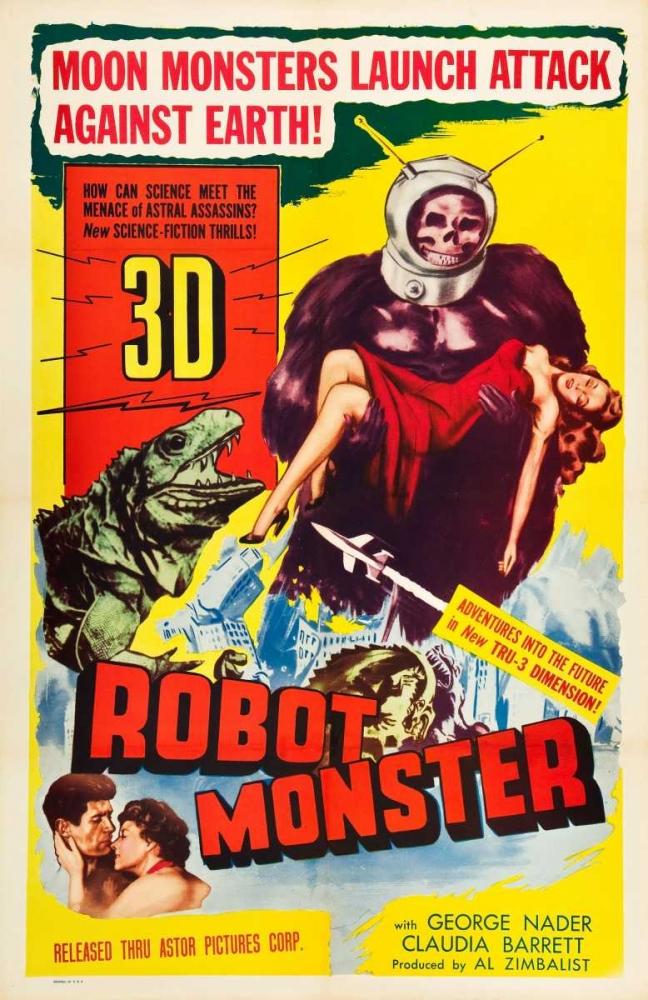 ROBOT MONSTER Everett Collection 113545