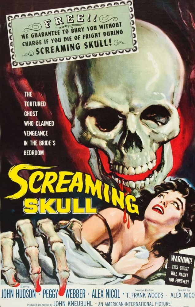 THE SCREAMING SKULL Everett Collection 114137