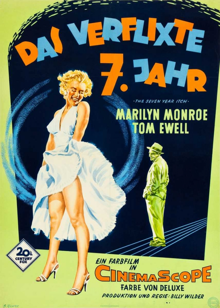 THE SEVEN YEAR ITCH Everett Collection 113801