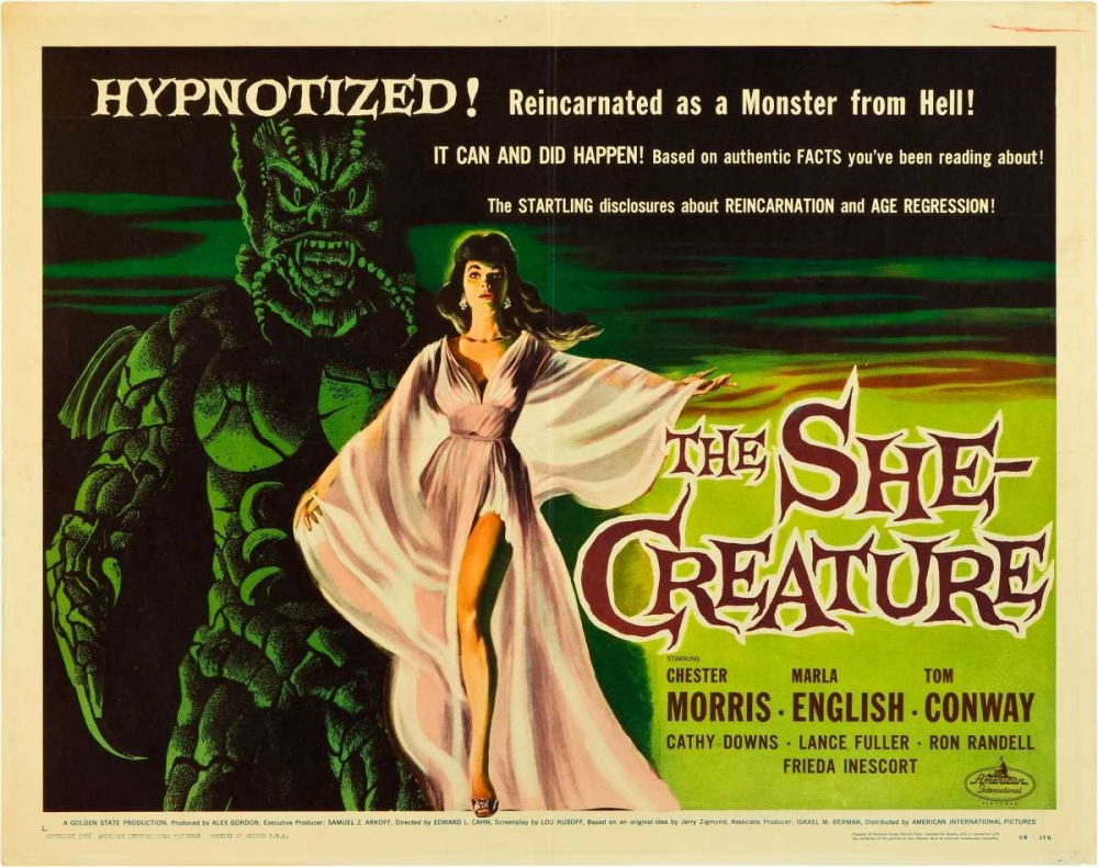 THE SHE-CREATURE Everett Collection 114004