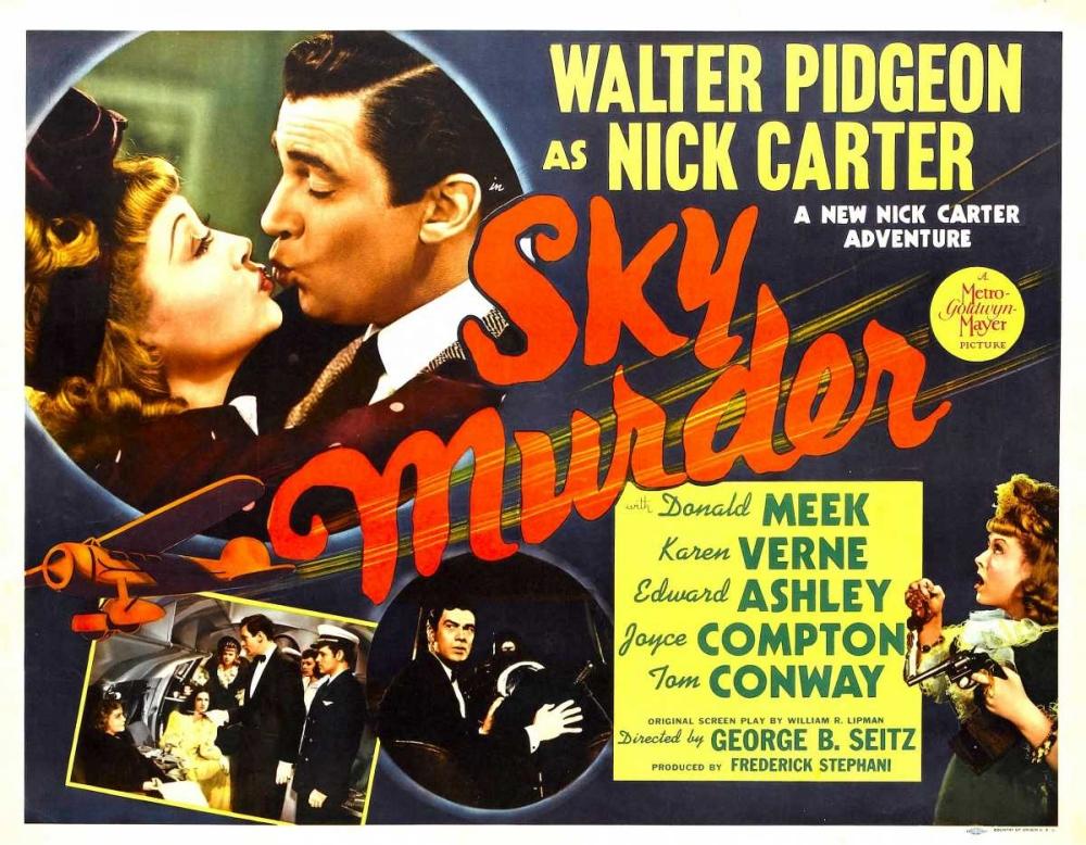 SKY MURDER Everett Collection 111642