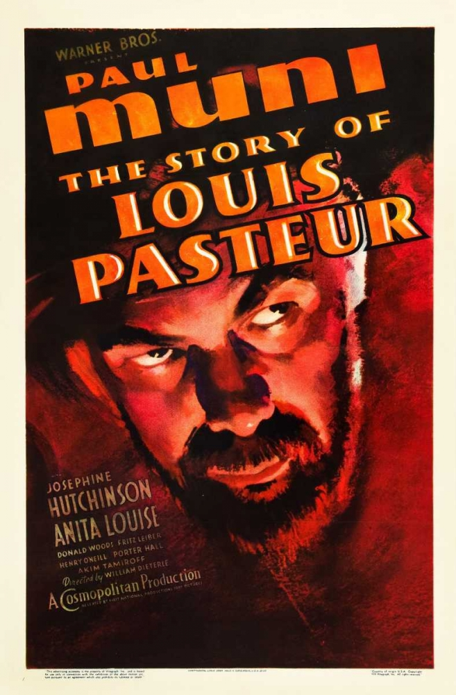 THE STORY OF LOUIS PASTEUR Everett Collection 110390