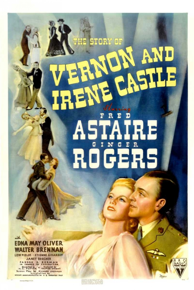 THE STORY OF VERNON AND IRENE CASTLE Everett Collection 111051