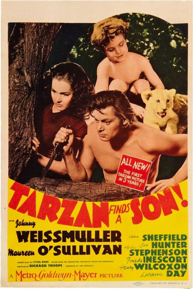 TARZAN FINDS A SON! Everett Collection 110966