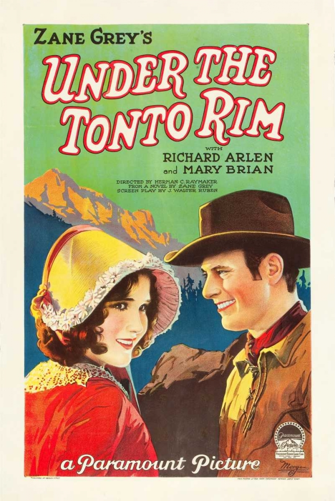 UNDER THE TONTO RIM Everett Collection 108758