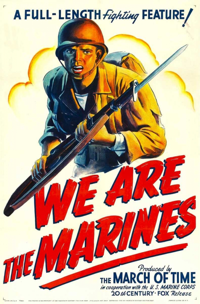 WE ARE THE MARINES Everett Collection 111993