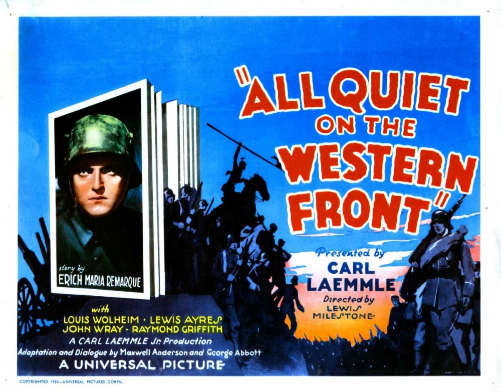 ALL QUIET ON THE WESTERN FRONT Everett Collection 109196