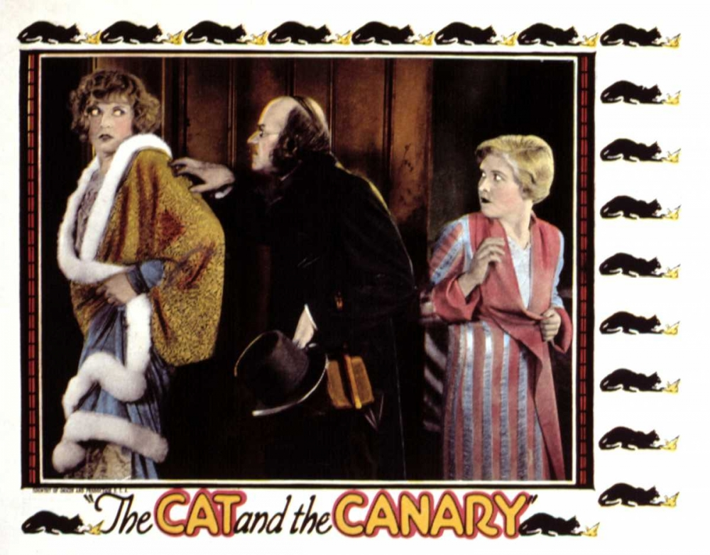 THE CAT AND THE CANARY Everett Collection 108962
