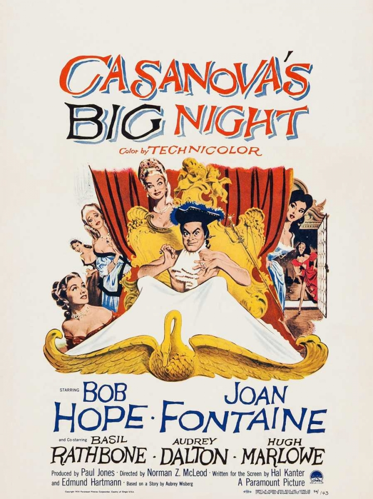 CASANOVAS BIG NIGHT Everett Collection 113629