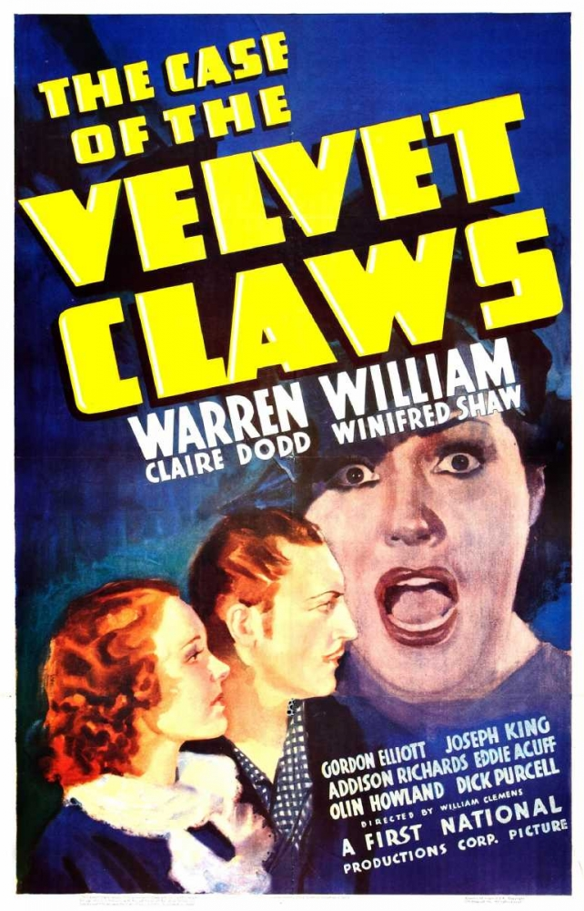 THE CASE OF THE VELVET CLAWS Everett Collection 110315