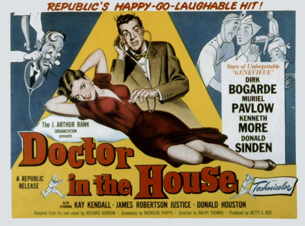 DOCTOR IN THE HOUSE Everett Collection 113286