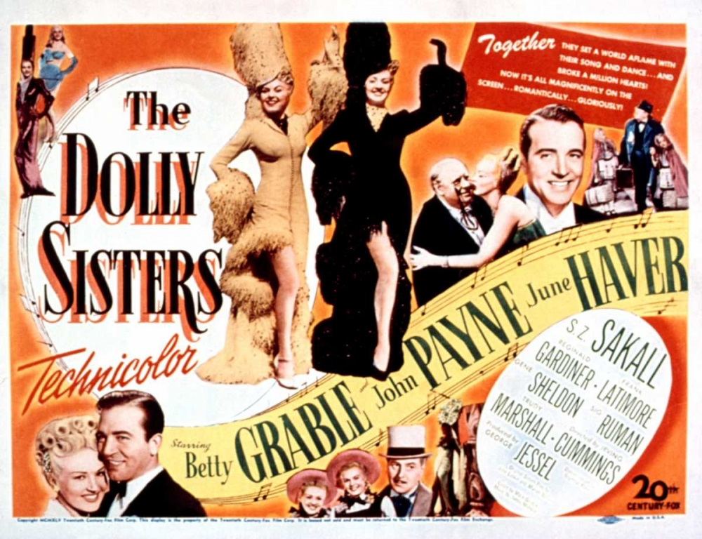 THE DOLLY SISTERS Everett Collection 112907