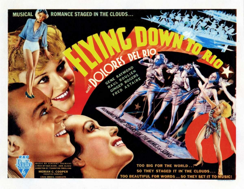 FLYING DOWN TO RIO Everett Collection 109634