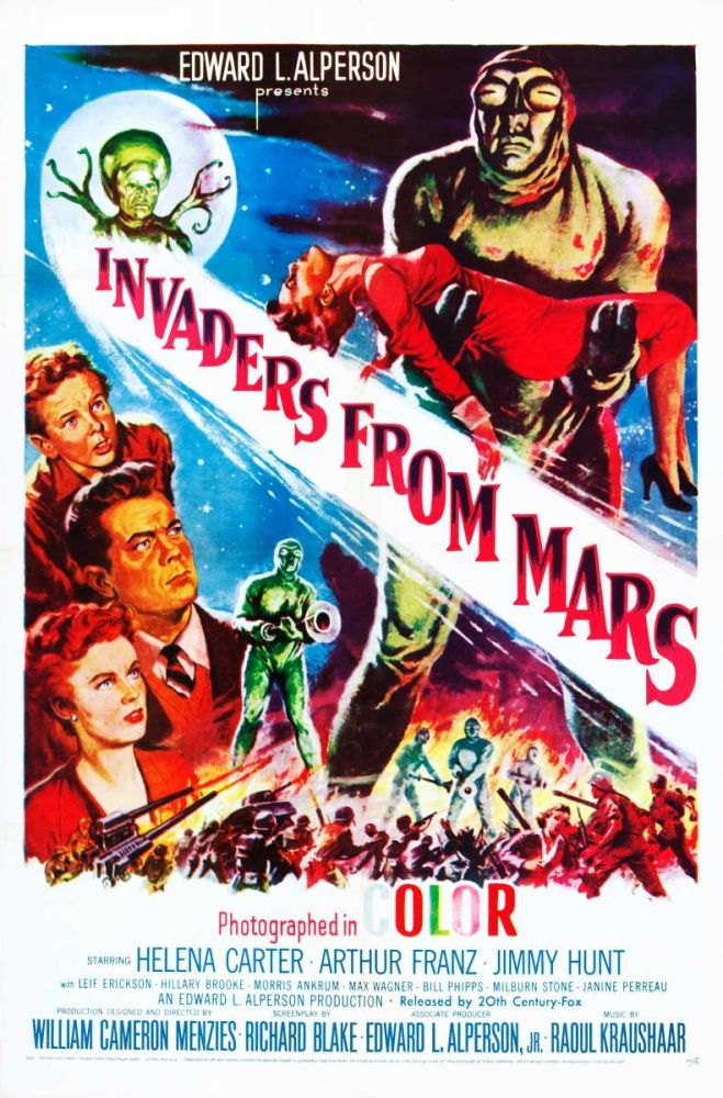 INVADERS FROM MARS Everett Collection 113549