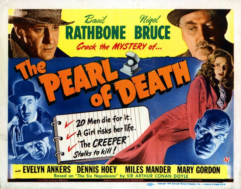 THE PEARL OF DEATH Everett Collection 112804