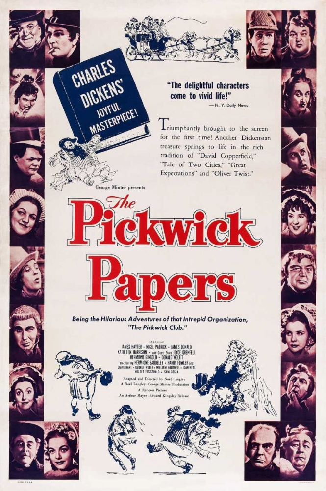 THE PICKWICK PAPERS Everett Collection 113476