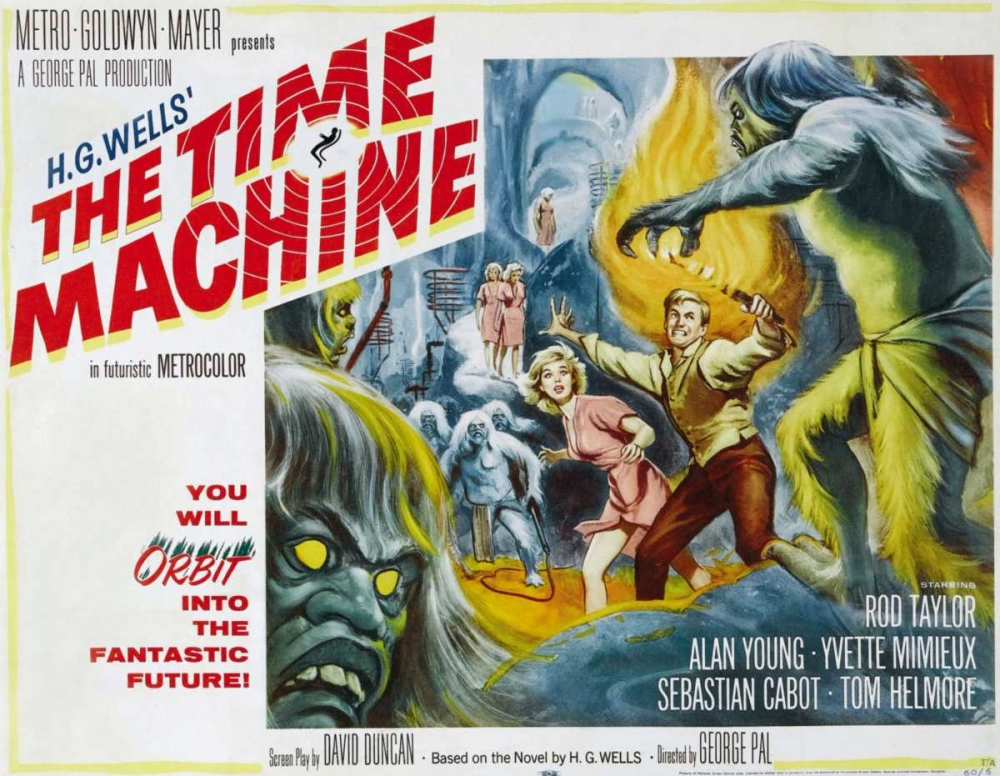 THE TIME MACHINE Everett Collection 114382