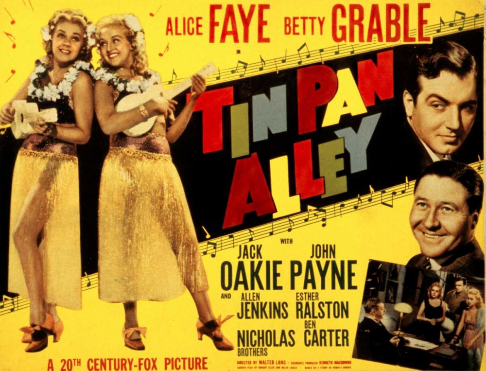 TIN PAN ALLEY Everett Collection 111744