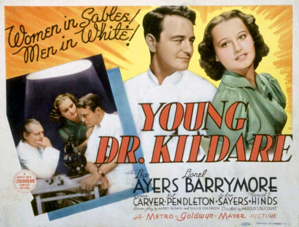 YOUNG DR. KILDARE Everett Collection 110822