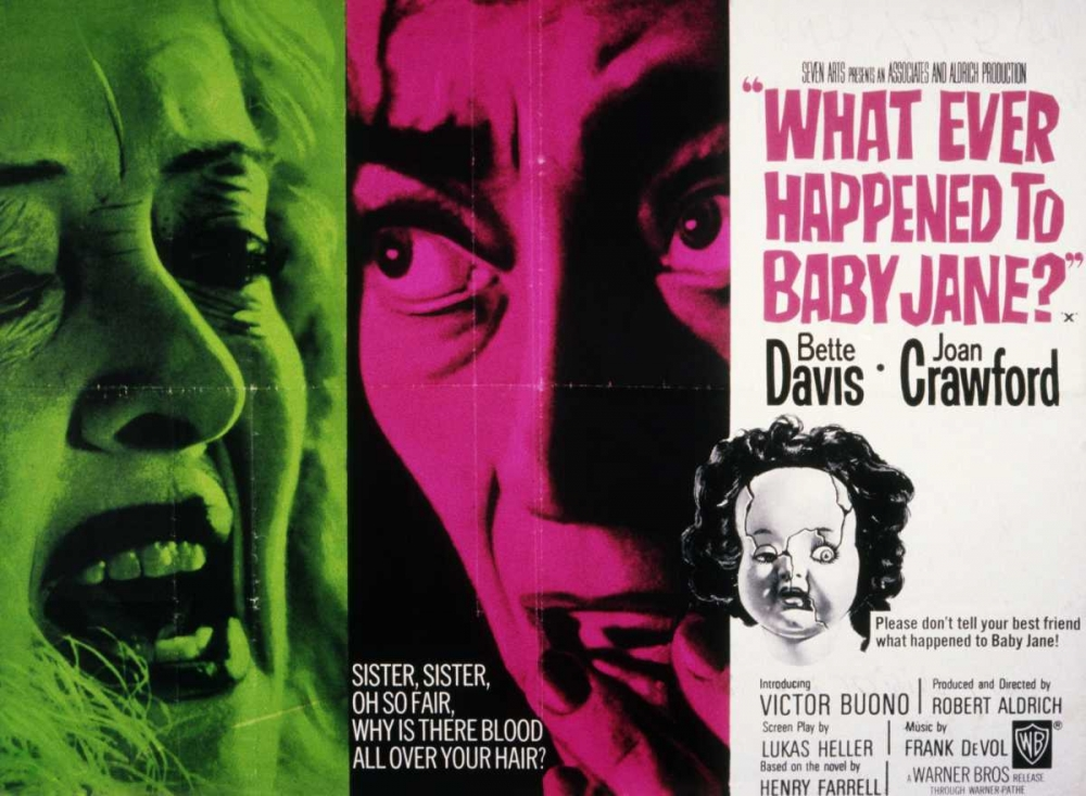 WHAT EVER HAPPENED TO BABY JANE Everett Collection 115924