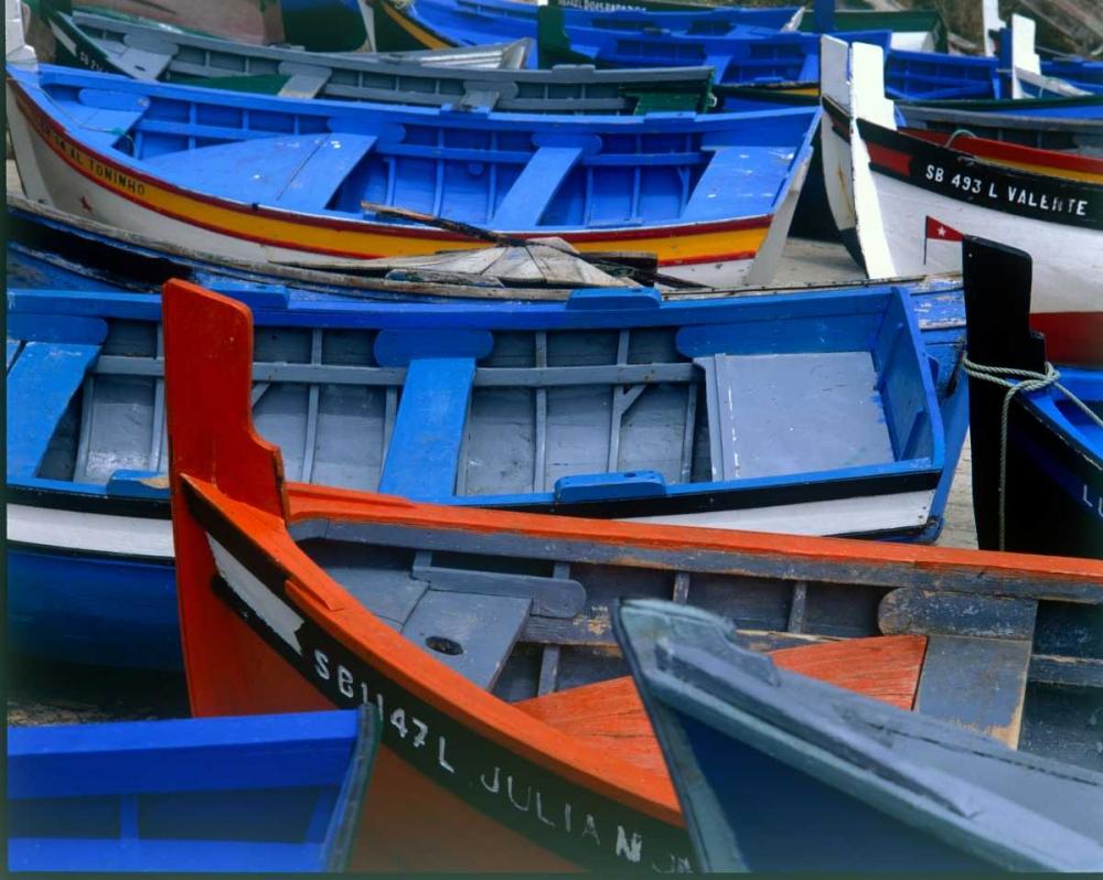 Fishing Boats, Morocco Blue, Cyril 119217