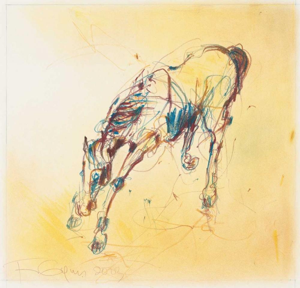 Bucking Horse Study Gynn, Fran 119265