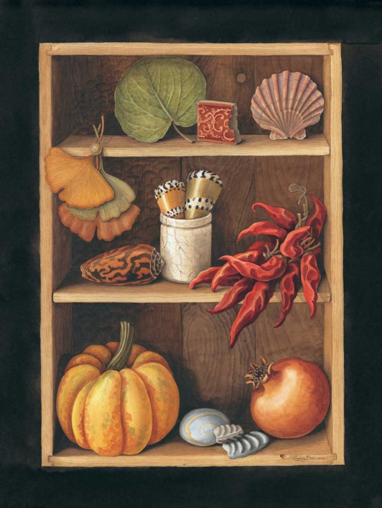 Objects on Shelves, Spanish style Baron, Jenny 126445