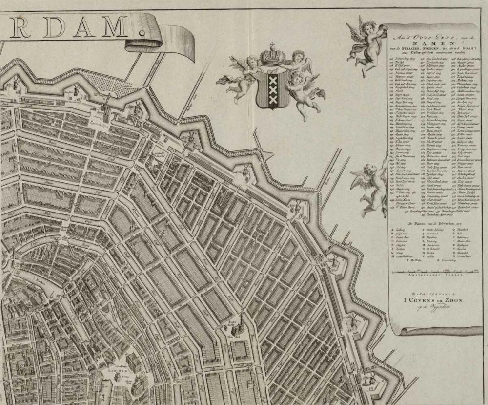 Amsterdam Sectional Map De Broen, Gerrit 120299