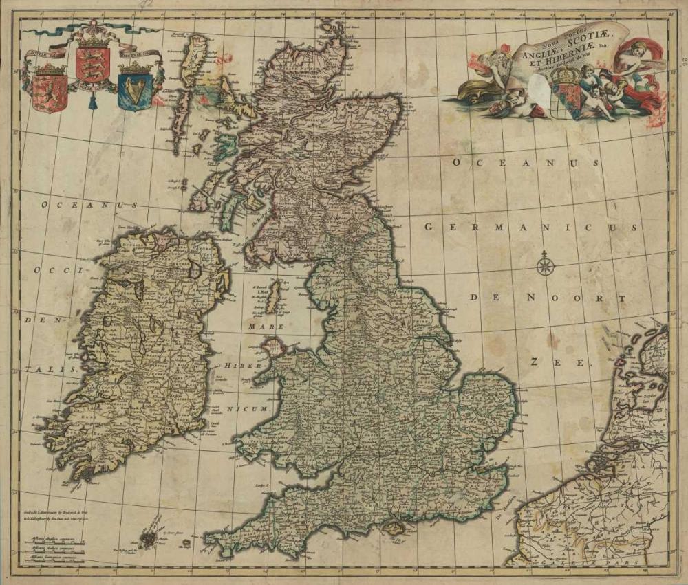 Angliae, Scotiae, Hiberniae De Wit, Frederick  120322