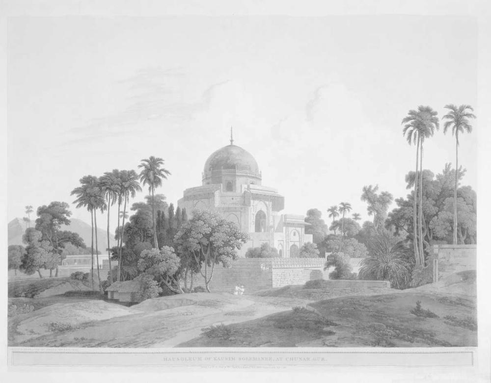 Mausoleum at Chunar Gar Daniells,Thomas and Wm 162707