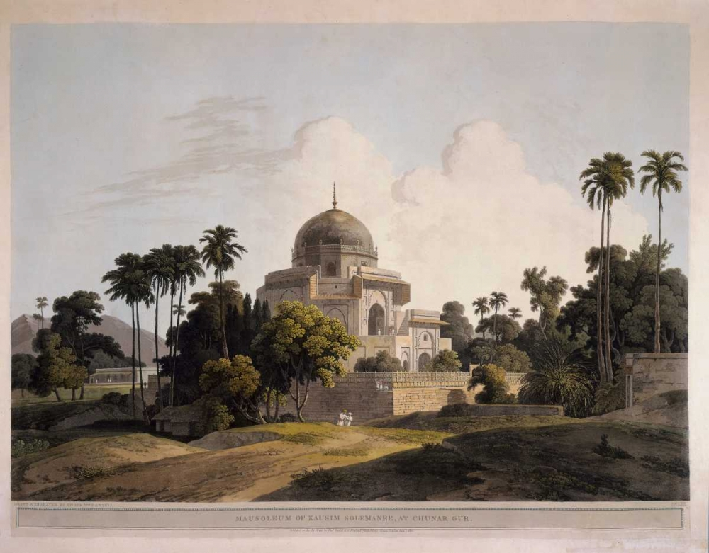 Mausoleum at Chunar Gar Daniells,Thomas and Wm 162706