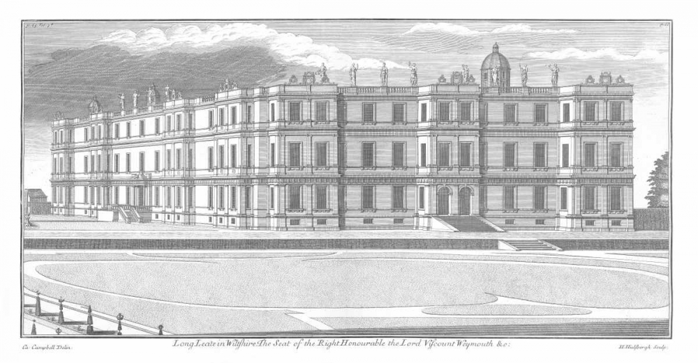 Longleat, Axonometric View Campbell, Colin 122031