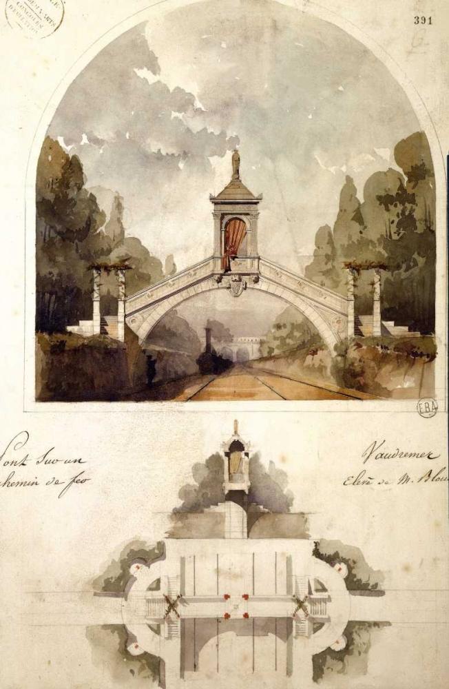 Design for a Railway Bridge Vaudremer, Emile 119437