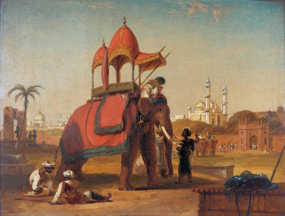 Elephant and Howdah Daniell, William 126494