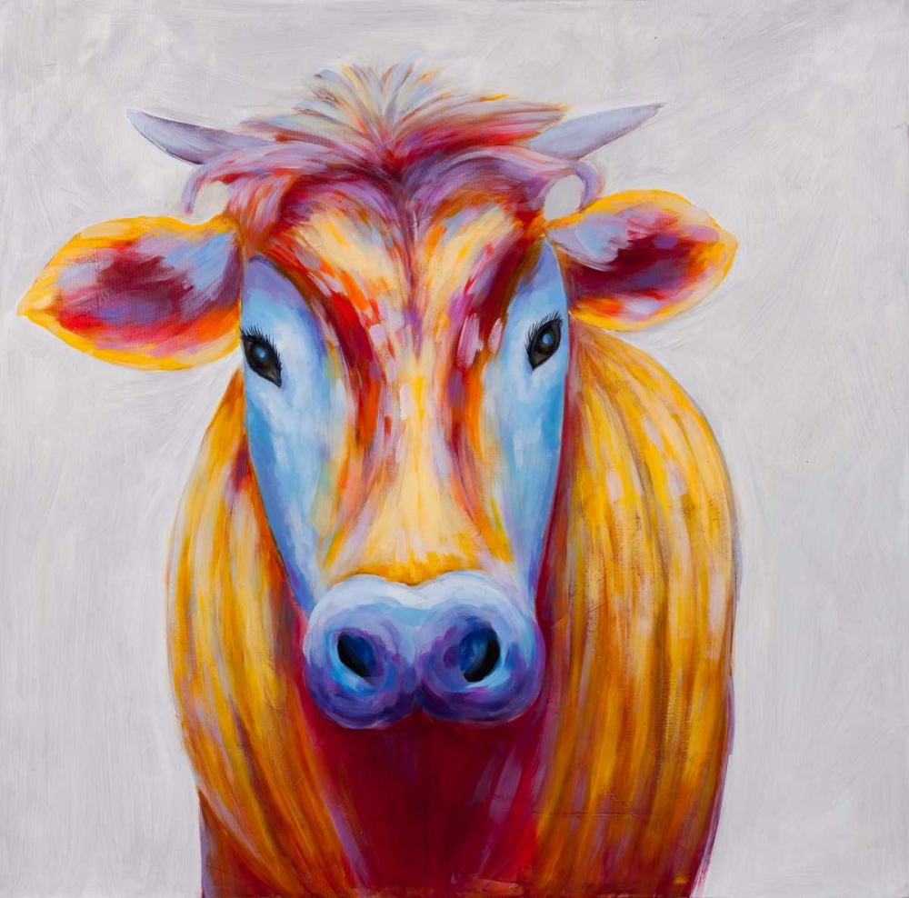 Colorful Country Cow Atelier B Art Studio 150813