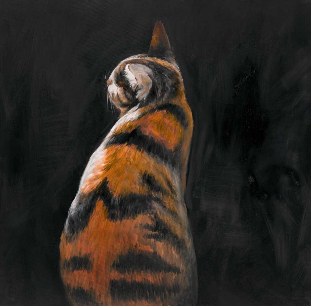 Cat Back View Atelier B Art Studio 150823