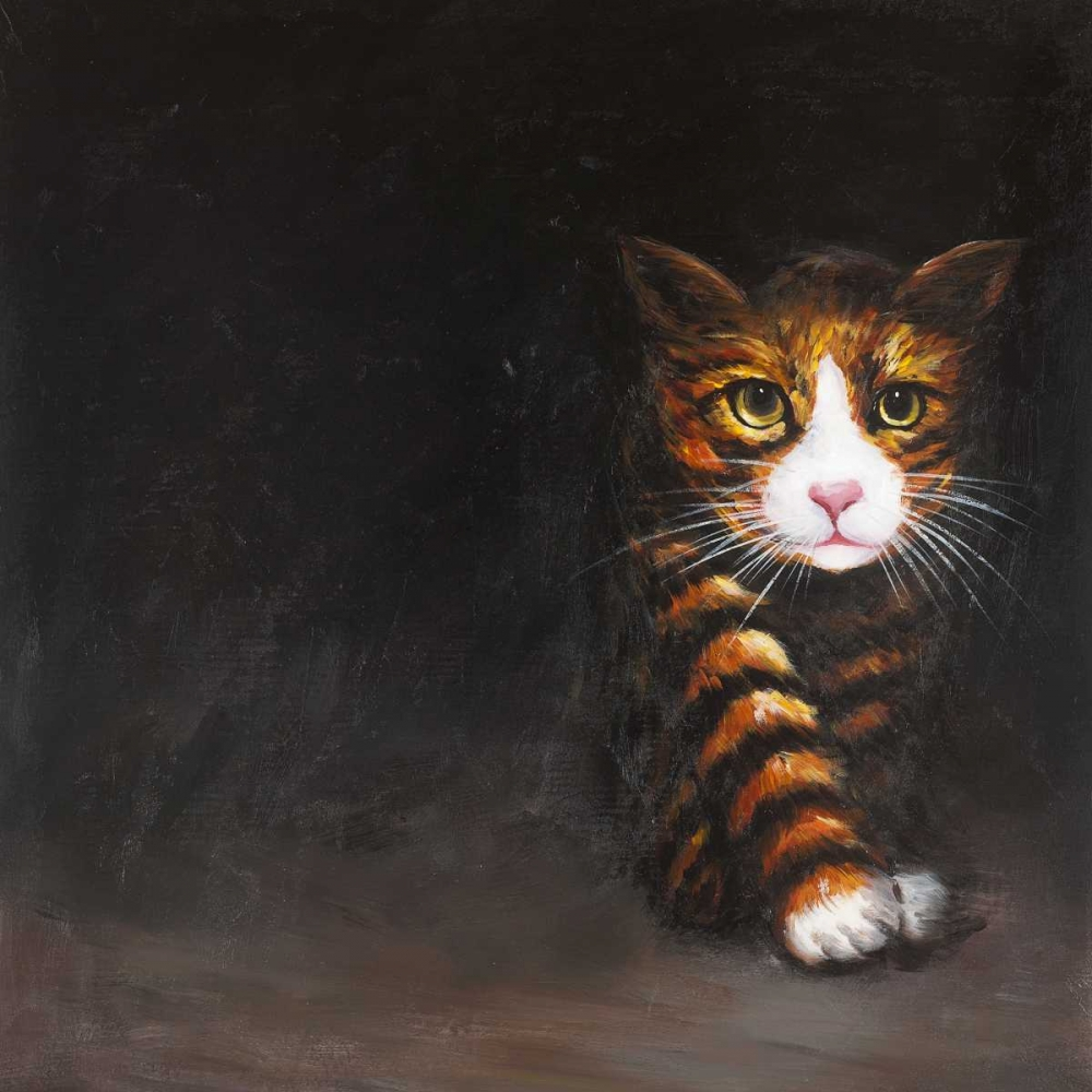 Discreet Cat Atelier B Art Studio 150824