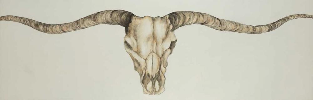 Long Horn Skull Country Atelier B Art Studio 150834